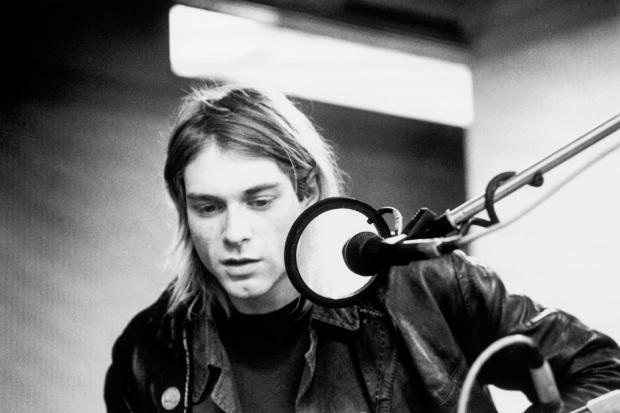 Kurt Cobain nieznany w \