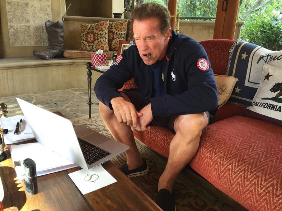 Arnold Schwarzenegger też nie lubi Miley Cyrus