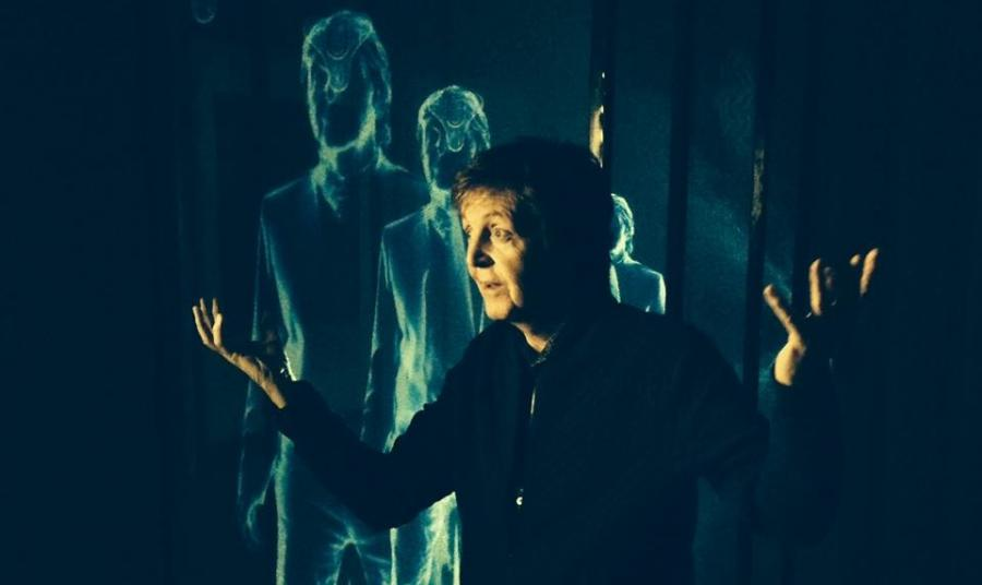 Paul McCartney przedstawia klip do \