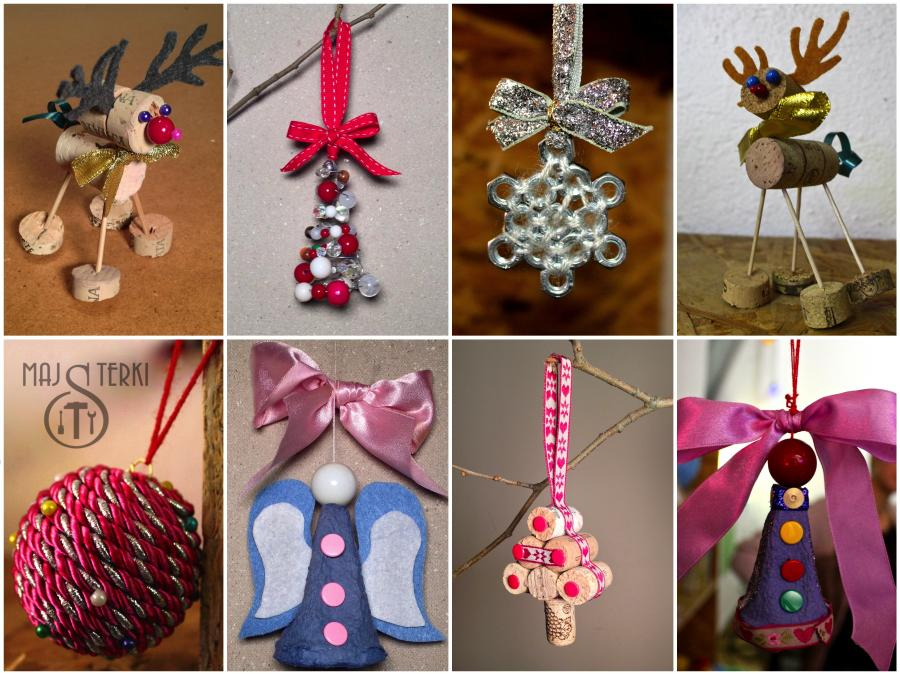 MAJSTERKI: DIY - ozdoby świąteczne
