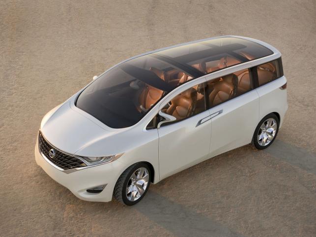 Forum to prototyp vana firmy Nissan
