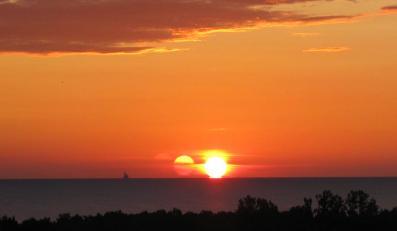 Cud nad Gdańskiem? Słońce wzeszło 3 razy
