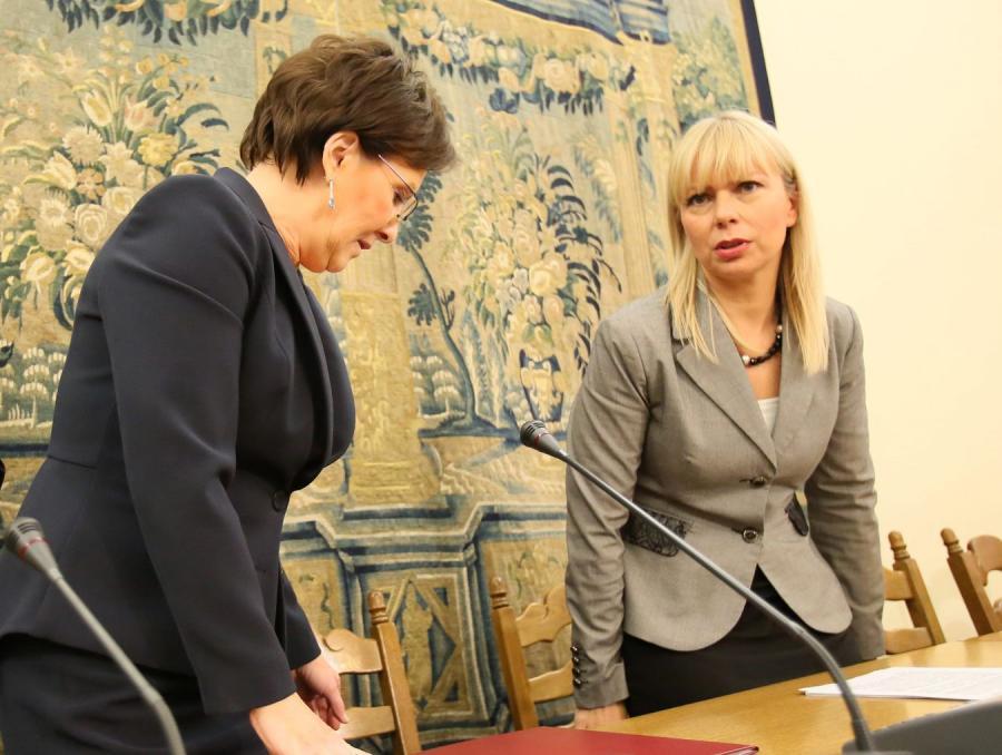 Ewa Kopacz i Elżbieta Bieńkowska