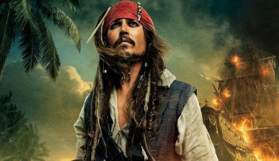 Johnny Depp jako Jack Sparrow