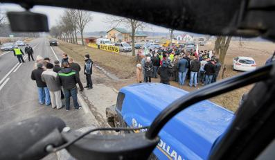 Protest rolników