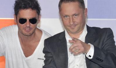 Kuba Wojewódzki i Kamil Durczok
