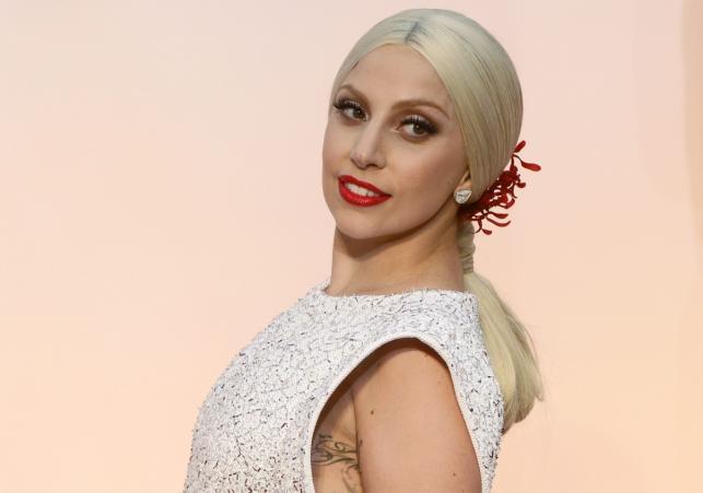 Lady Gaga na gali Oscarów 2015