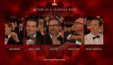 Kandydaci do Oscara za najlepszą rolę męską