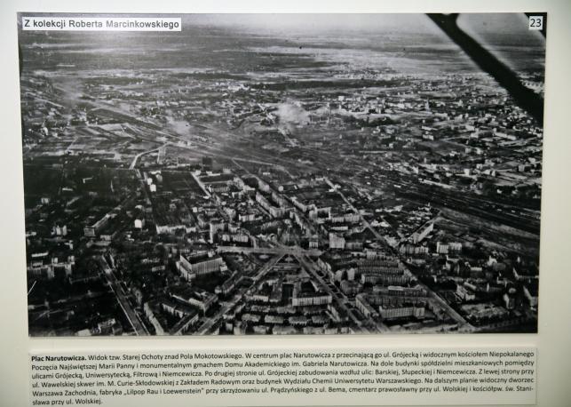 Warszawa na zdjęciach Luftwaffe