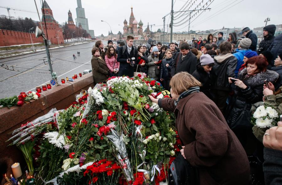 Miejsce śmierci Borysa Niemcowa