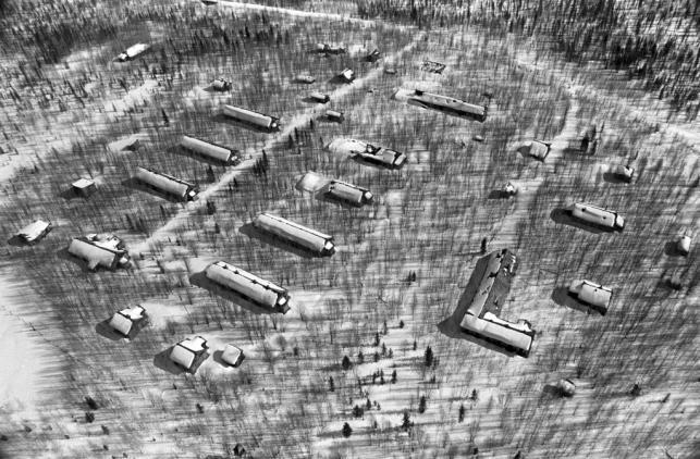 Łagier i linia kolejowa Martwej Drogi