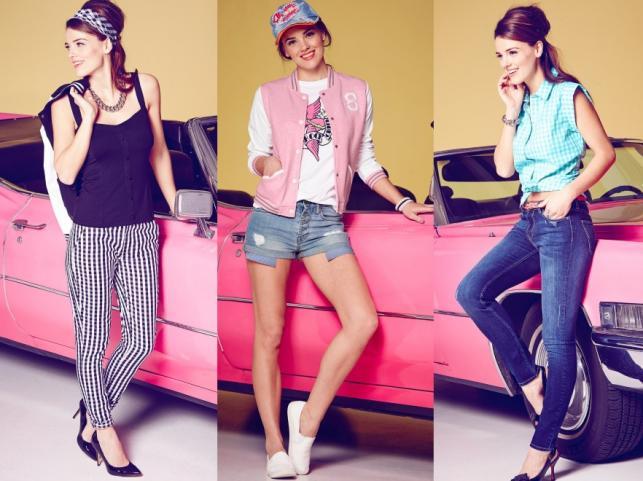 Kolekcja bonprix wiosna/lato 2015 - linia 50s Rebel