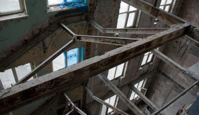 Warszawski wieżowiec Prudential od środka