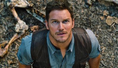 """Chris Pratt w filmie """"Jurassic World"""""""