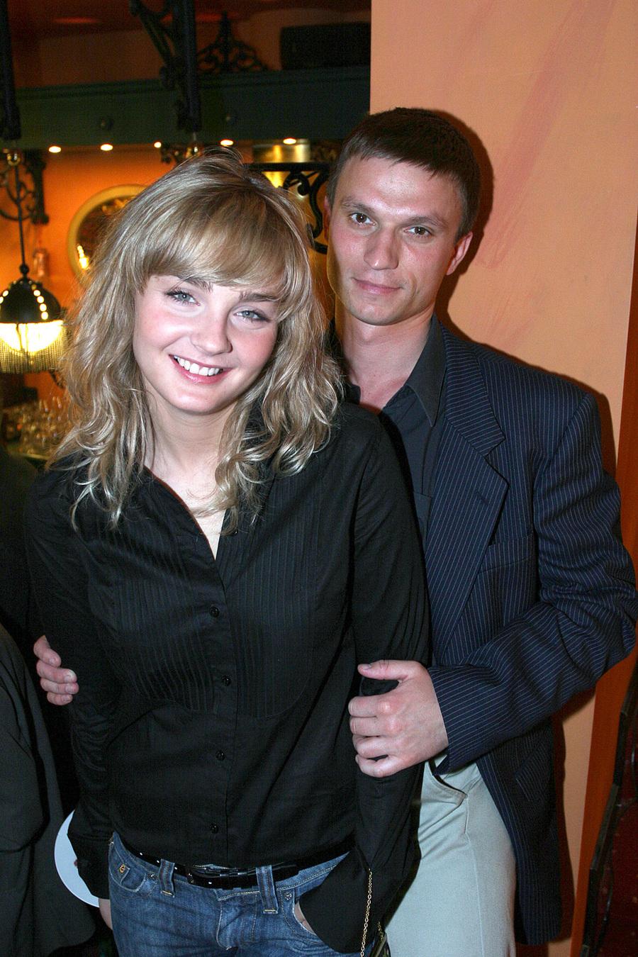 Małgorzata Socha z mężem, Krzysztofem Wiśniewskim