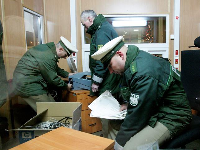 Niemieccy pogranicznicy kończą ostatni dyżur