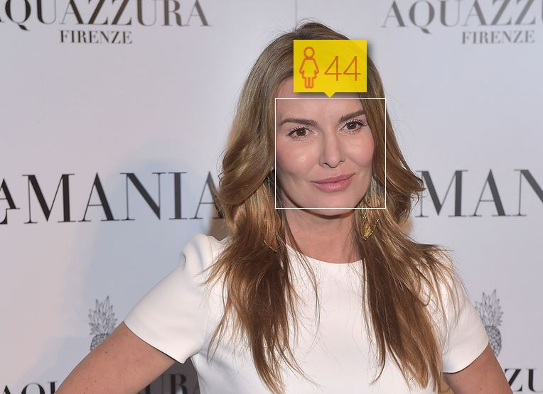 Hanna Lis i jej wiek według How-Old.net