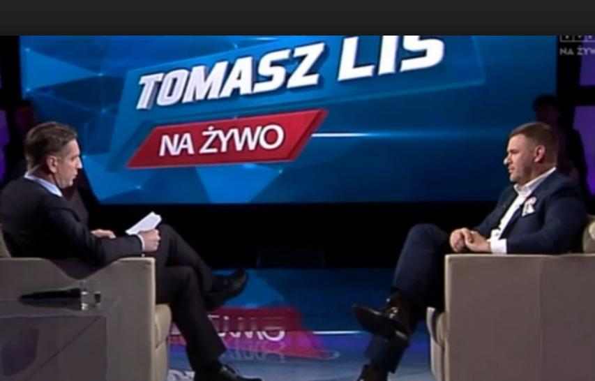 Tomasz Lis i Tomasz Karolak