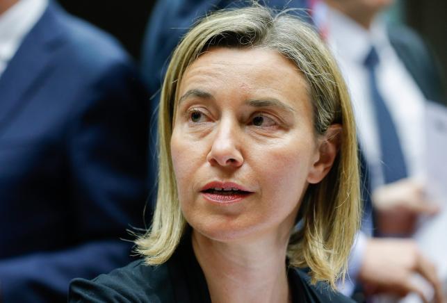 FEDERICA MOGHERINI, przedstawiciel UE do spraw zagranicznych i polityki bezpieczeństwa