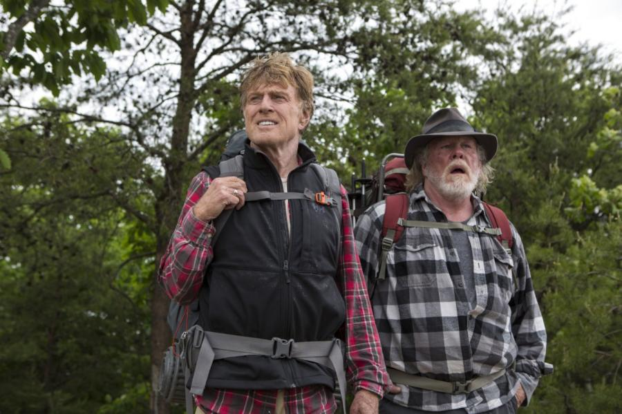 Robert Redford i Nick Nolte idą w góry