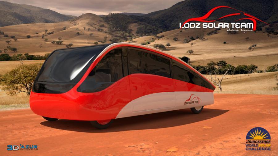 Pojazd Łódź Solar Team