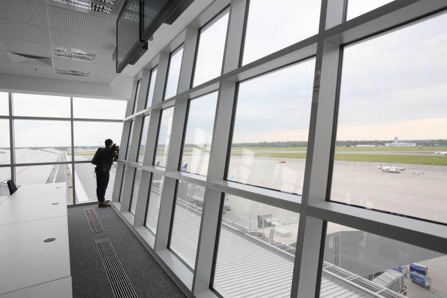 Warszawskie lotnisko Okęcie