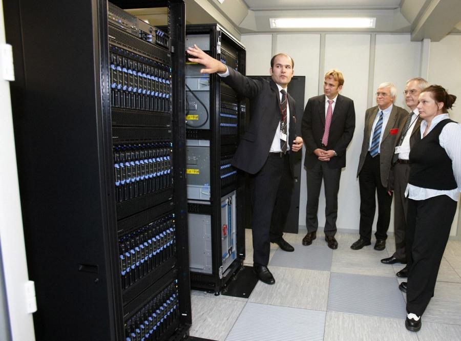 Najbardziej ekologiczny superkomputer stoi w Warszawie