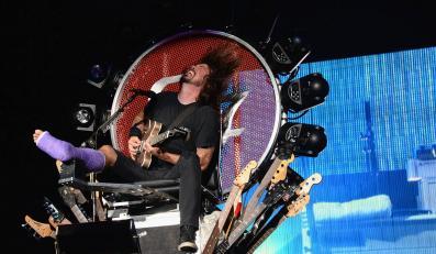 Dave Grohl wrócił na trasękoncertową
