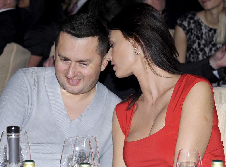 Norbi z żoną, Marleną Jagłowską