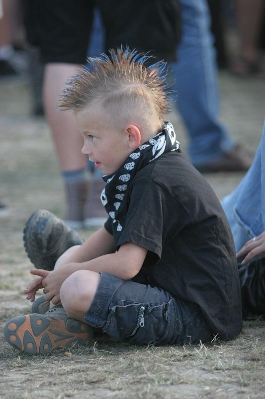 Jarocin na archiwalnych zdjęciach: Młody fan w 2008 roku
