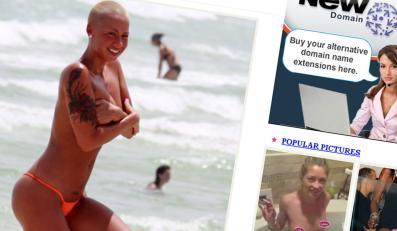 Zobacz byłą-obecną Kanyego Westa topless