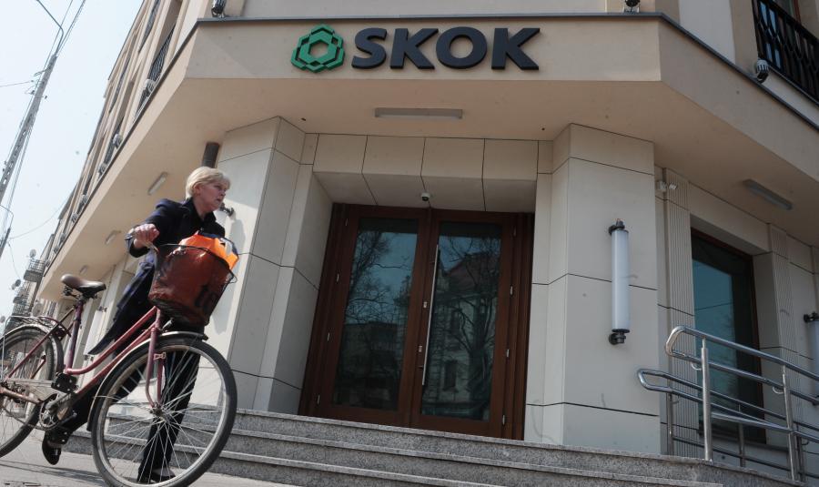 Zamknięty oddział SKOK w Wołominie