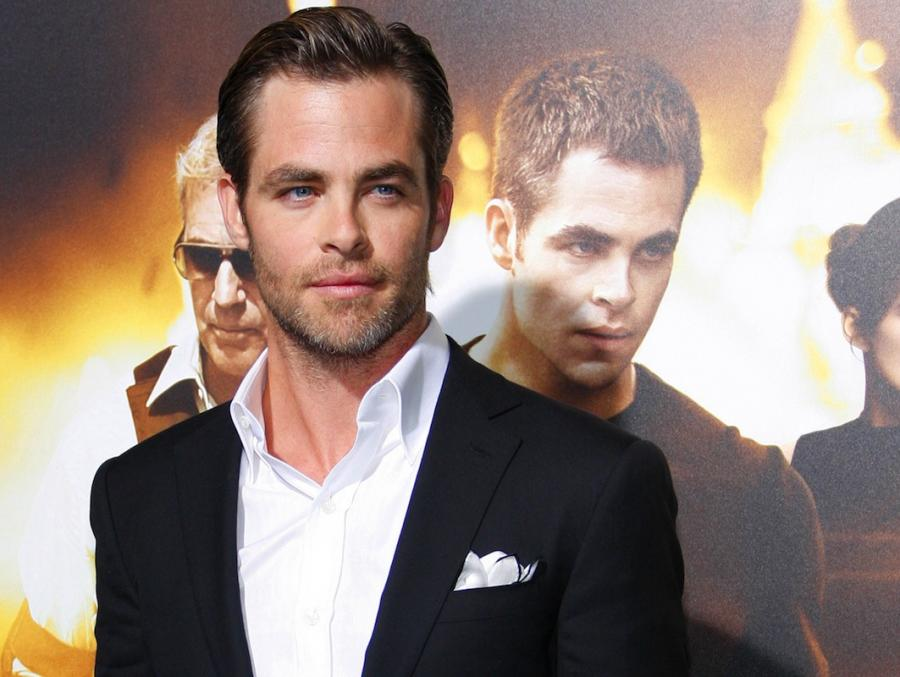 Chris Pine ukochanym Wonder Woman