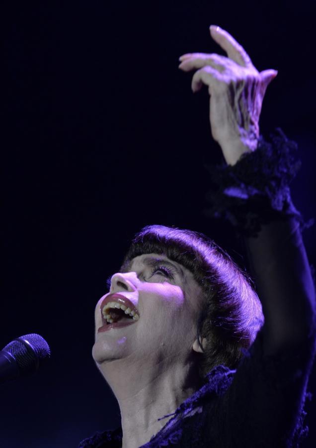 Mireille Mathieu wciąż niepokonana