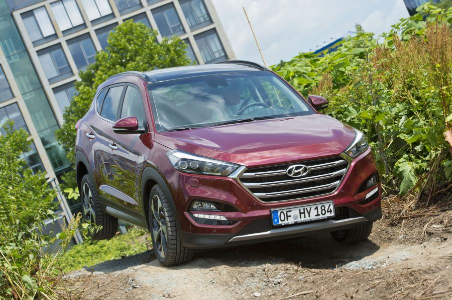 Hyundai tucson - 3. miejsce w zestawieniu