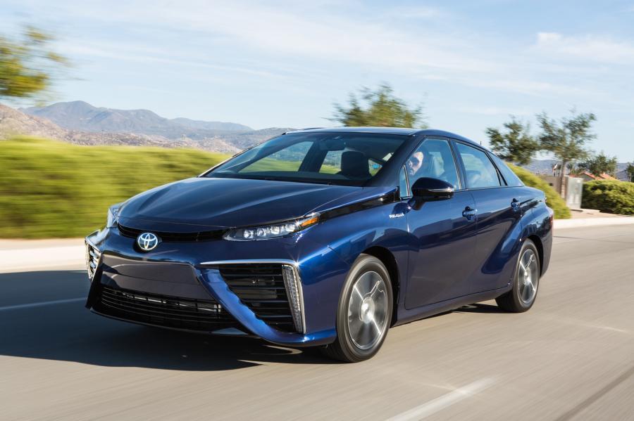 Toyota mirai - światowym zielonym samochodem 2016