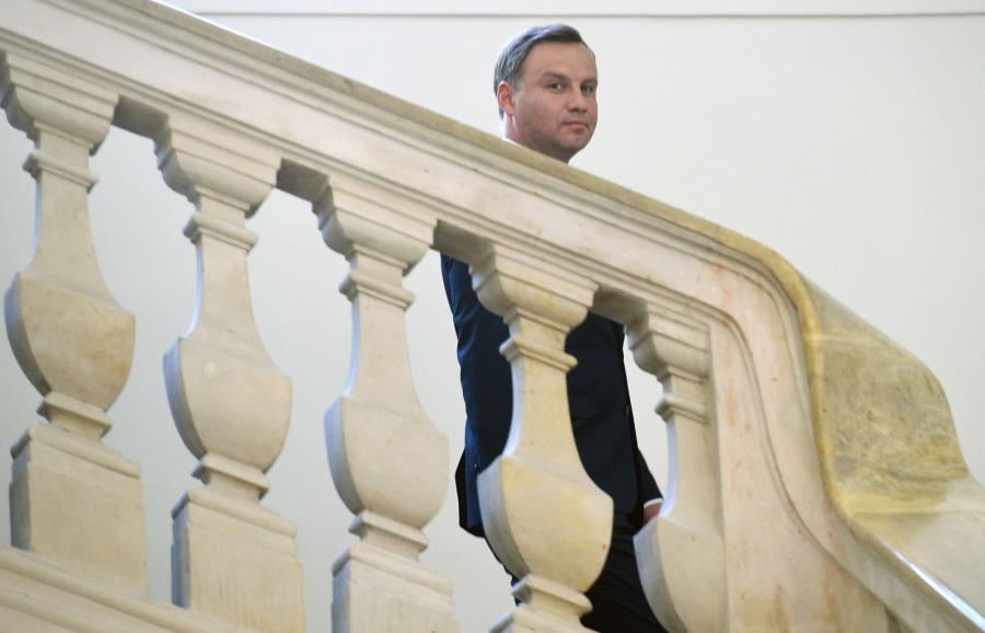 Prezydent Andzej Duda