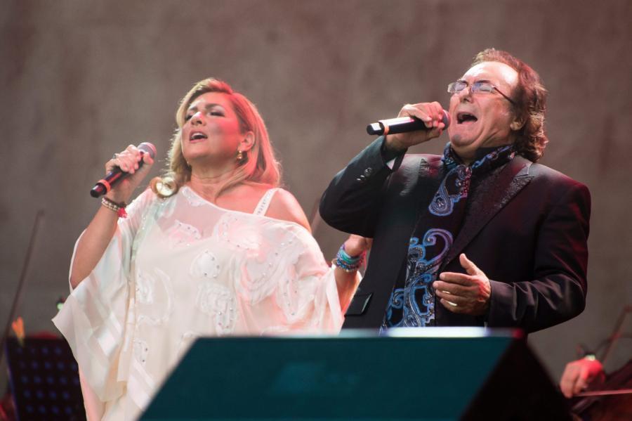 Al Bano i Romina Power podczas koncertu w Berlinie