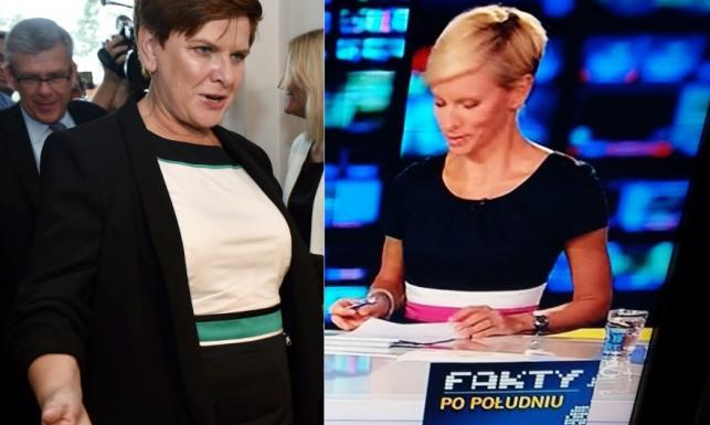 Czy Beatę Szydło ubiera stylista TVN-u?! Oto powody, by tak myśleć!