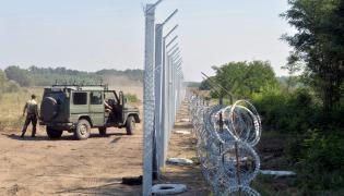 Granica między Serbią a Węgrami