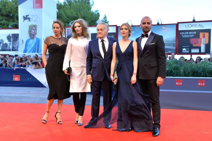 Anna Buczek, Agata Buzek, Jerzy Skolimowski, Paulina Chapko i Wojciech Mecwaldowski