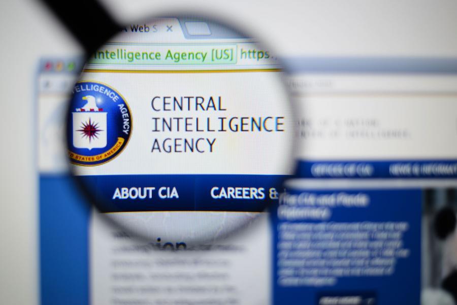 Strona internetowa amerykańskiej Centalnej Agencji Wywiadowczej