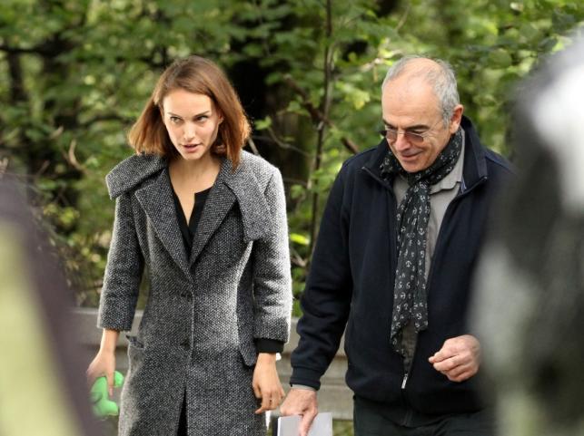 Natalie Portman i Sławomir Idziak