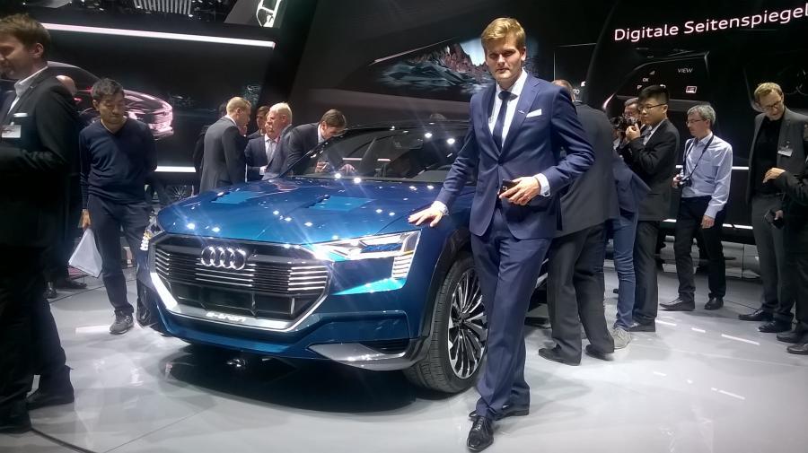 Kamil Łabanowicz zaprojektował Audi e-tron quattro
