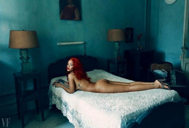 Rihanna naga w obiektywie Annie Leibovitz