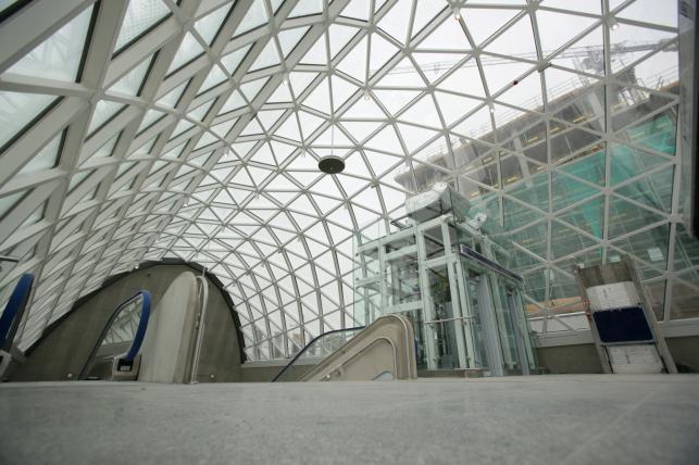 Postępy w budowie dworca Warszawa Zachodnia