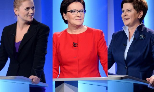 200% kobiecości! Barbara Nowacka znokautowała rywalki w debacie... dekoltem