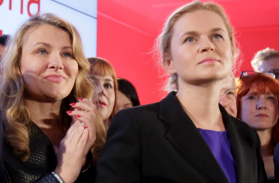 Liderka Zjednoczonej Lewicy Barbara Nowacka