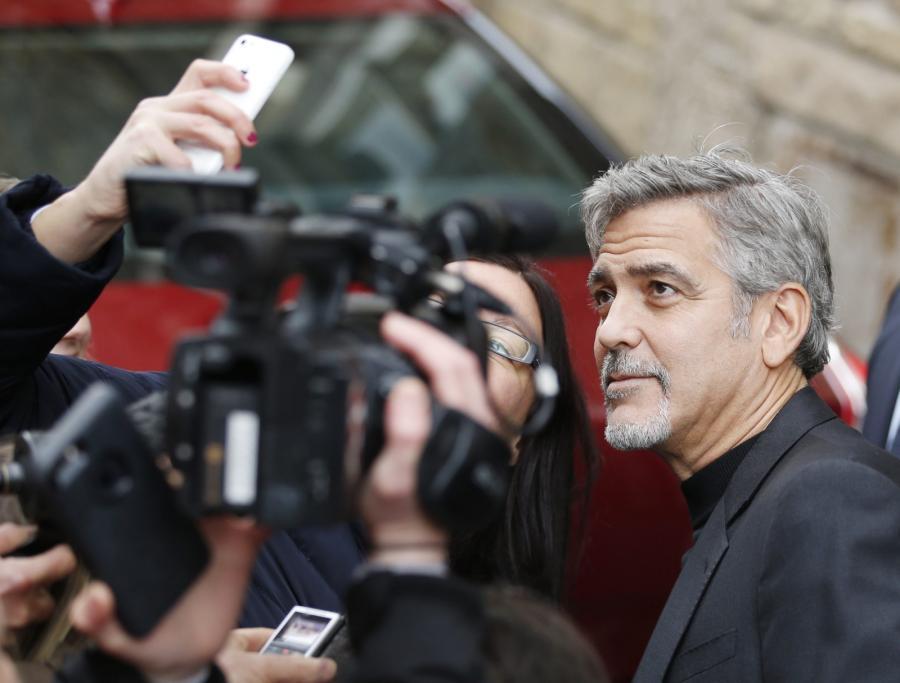 George Clooney w Edynburgu