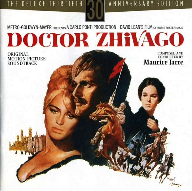 """8. """"Doctor Zhivago"""" – Soundtrack"""